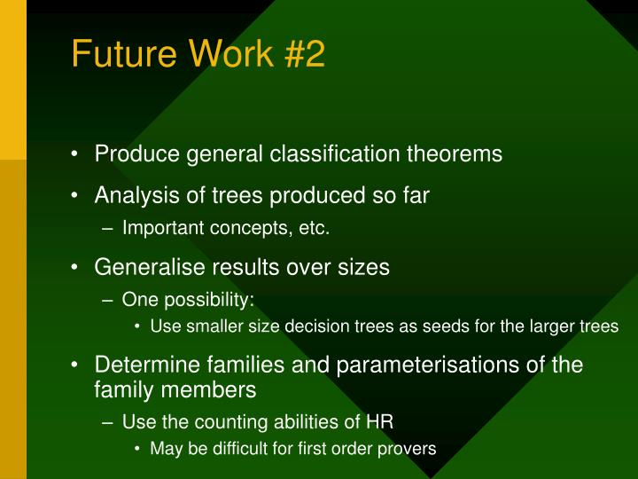 Future Work #2