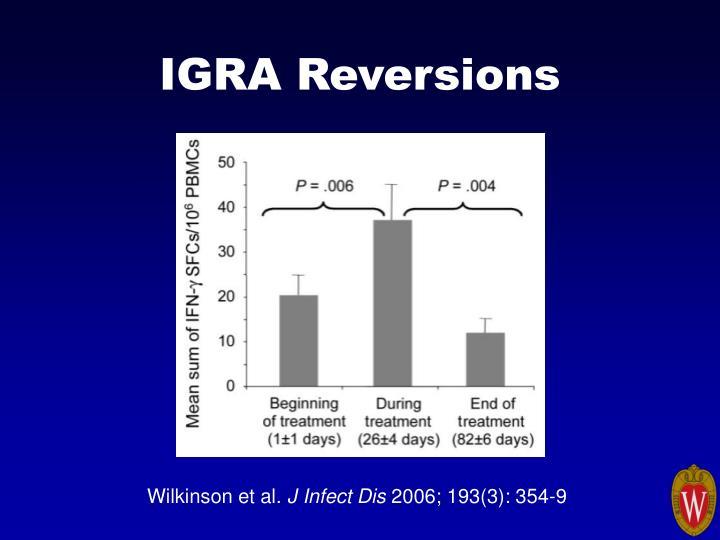 IGRA Reversions