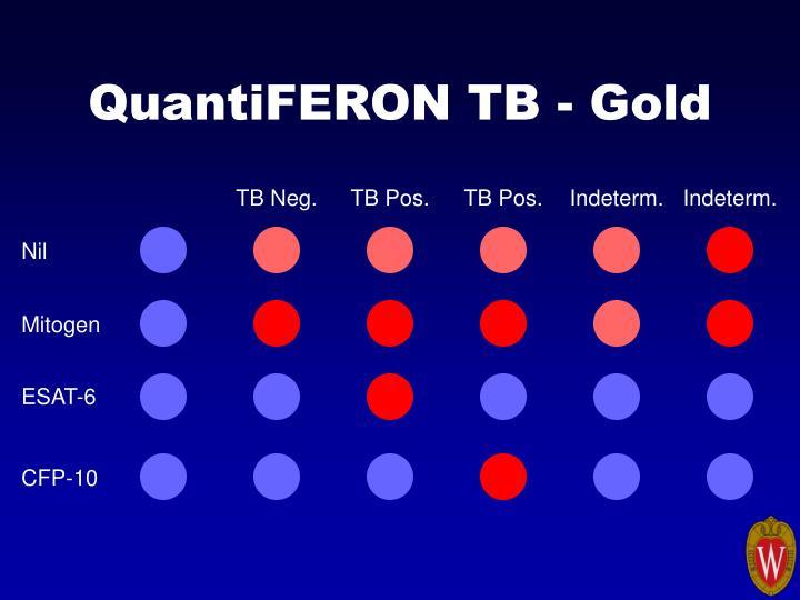 QuantiFERON TB - Gold