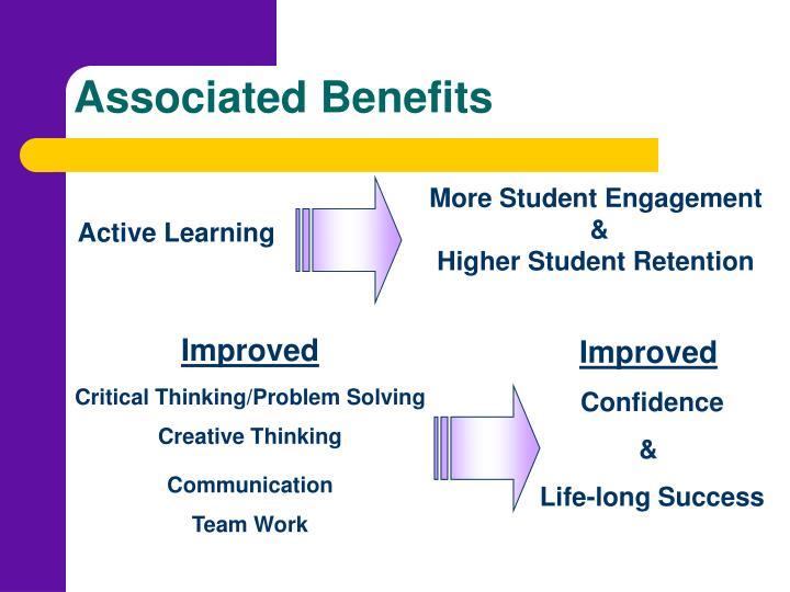 Associated Benefits