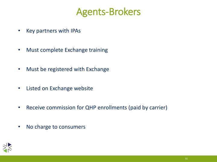 Agents-Brokers