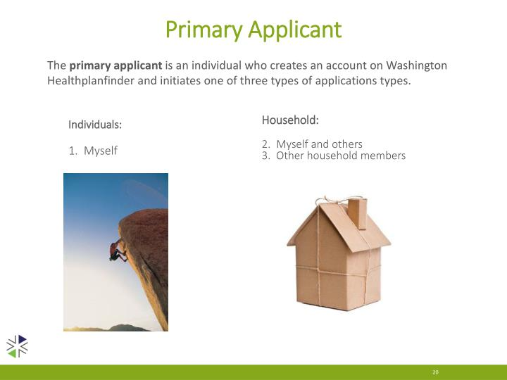 Primary Applicant