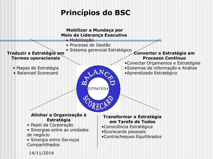 Princípios do BSC