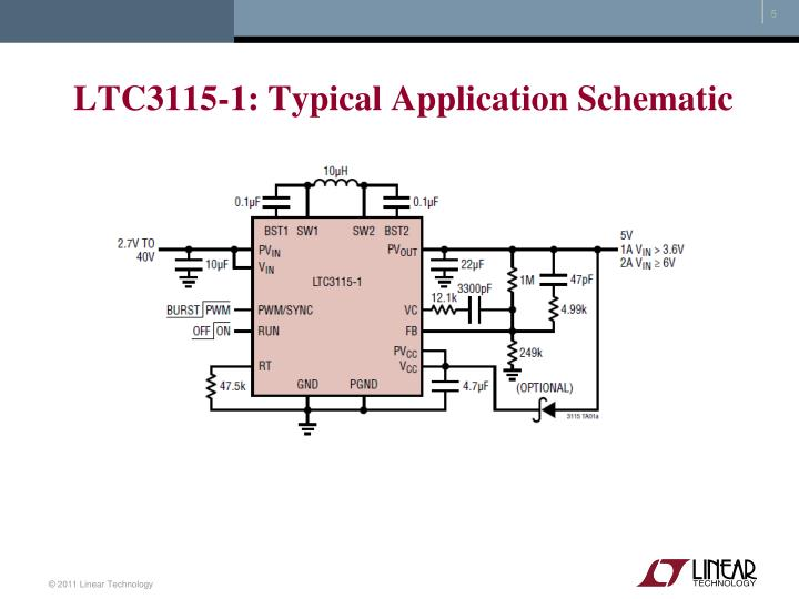 LTC3115-1: Typical Application Schematic