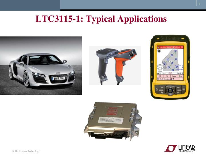 LTC3115-1: Typical Applications