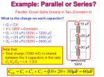 example parallel or series