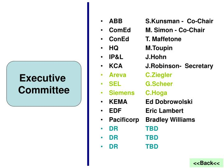 ABB         S.Kunsman -  Co-Chair
