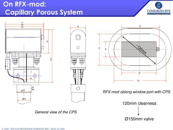 On RFX-mod: