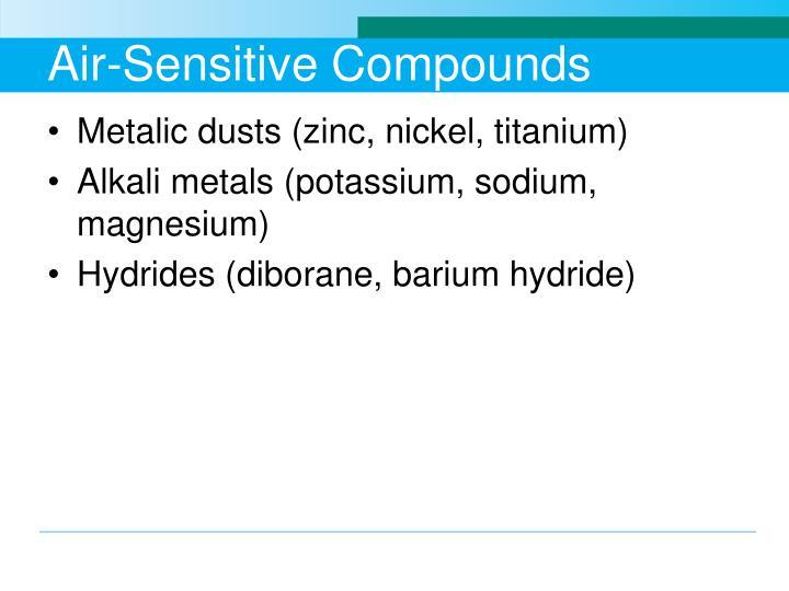 Air-Sensitive Compounds