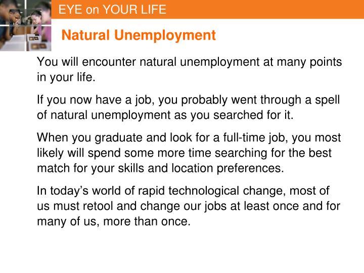 Natural Unemployment