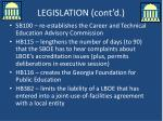 legislation cont d1
