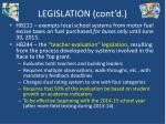 legislation cont d2