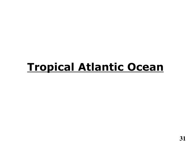Tropical Atlantic Ocean