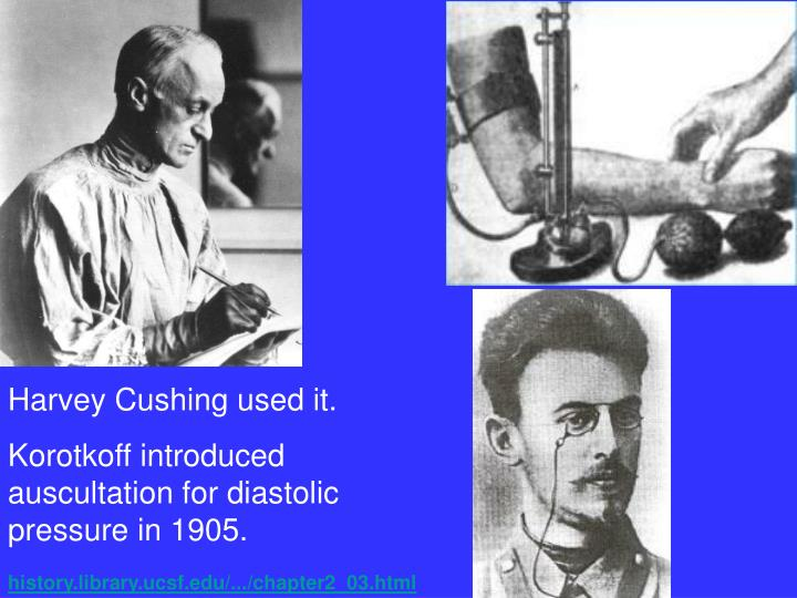 Harvey Cushing used it.