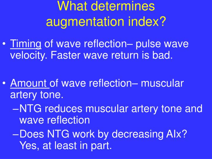 What determines