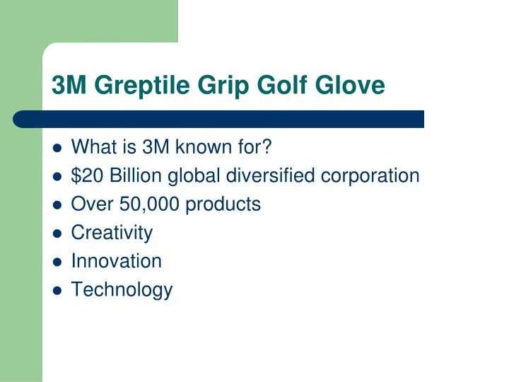 3M Greptile Grip Golf Glove