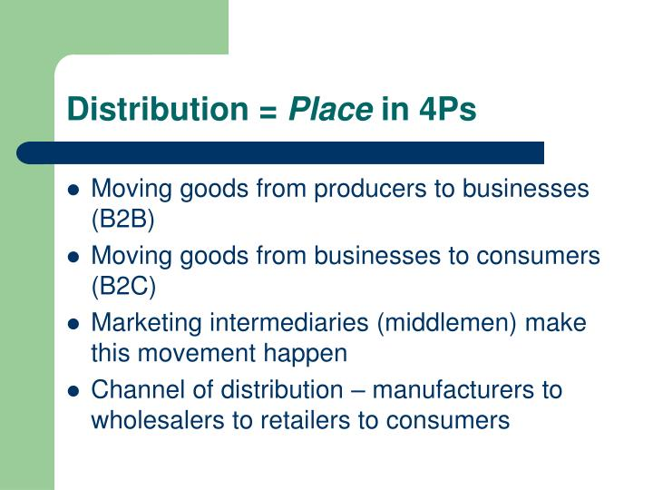 Distribution =