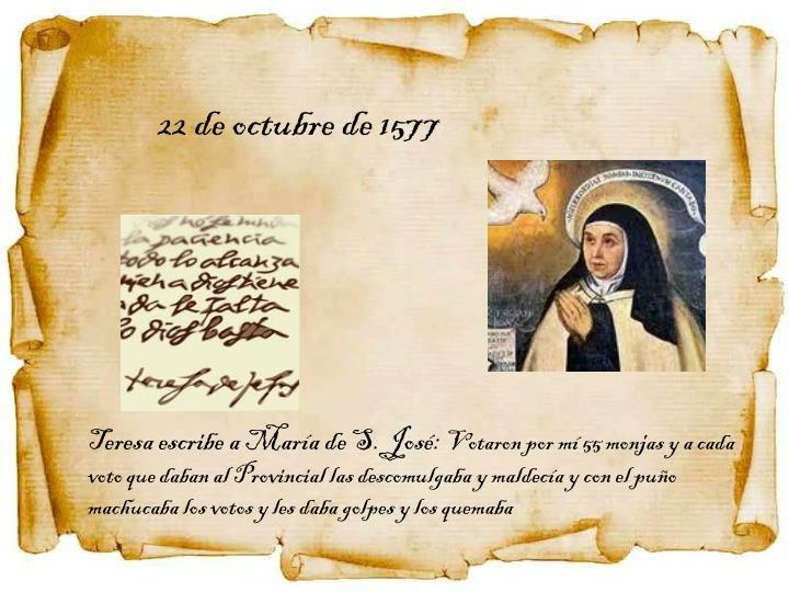 22 de octubre de 1577