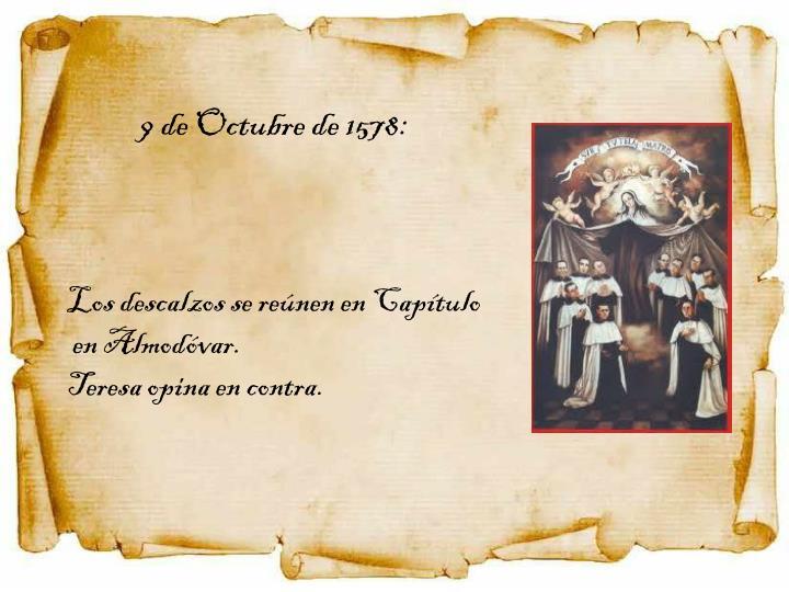 9 de Octubre de 1578: