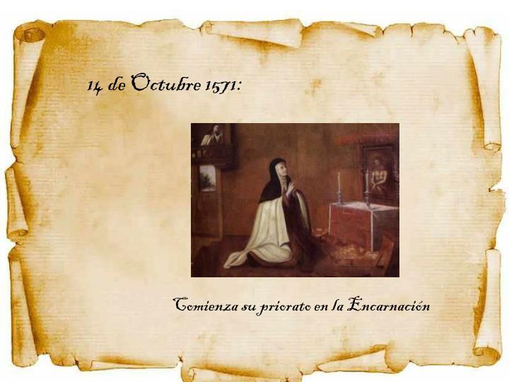 14 de Octubre 1571: