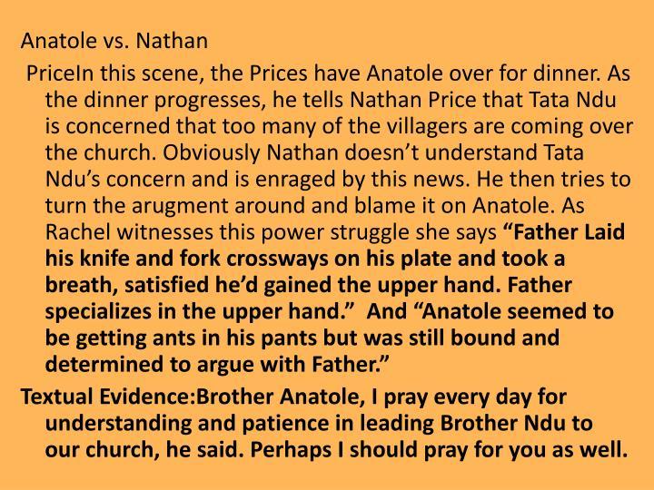 Anatole vs. Nathan