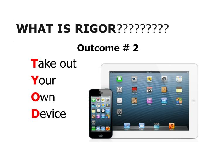What is RIGOR