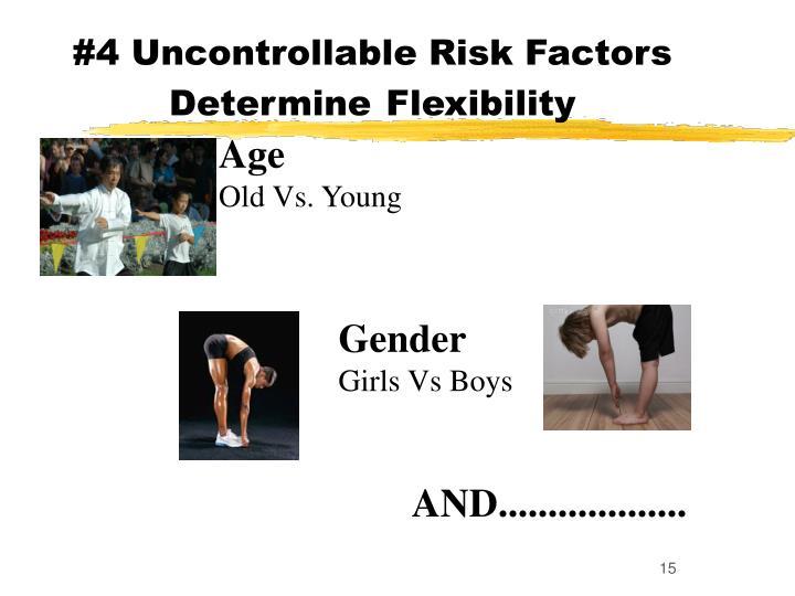#4 Uncontrollable Risk Factors Determine