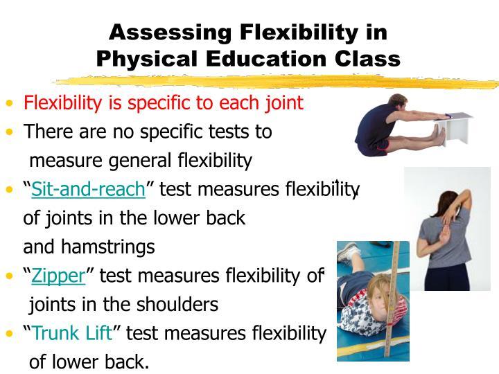 Assessing Flexibility in