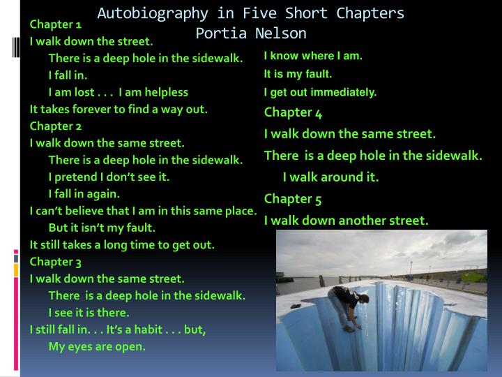 Autobiography in Five Short Chapters