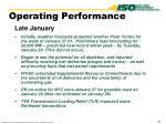 operating performance1