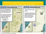 why would israel not accept the formula for peace according to the map on the right