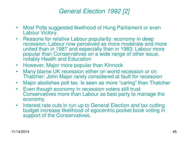 General Election 1992 [2]