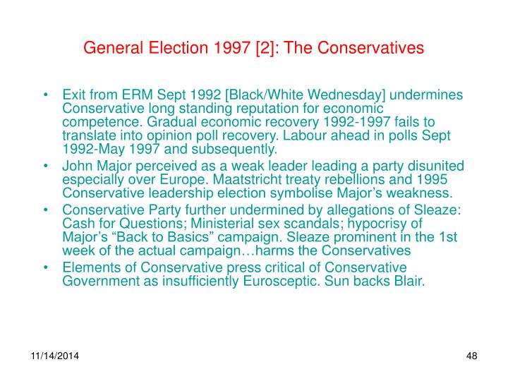 General Election 1997 [2]: The Conservatives