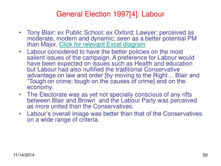 General Election 1997[4]: Labour