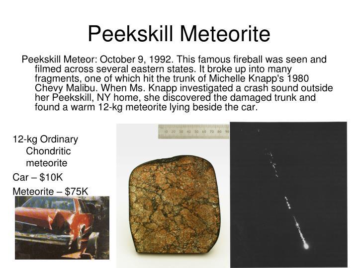 Peekskill Meteorite
