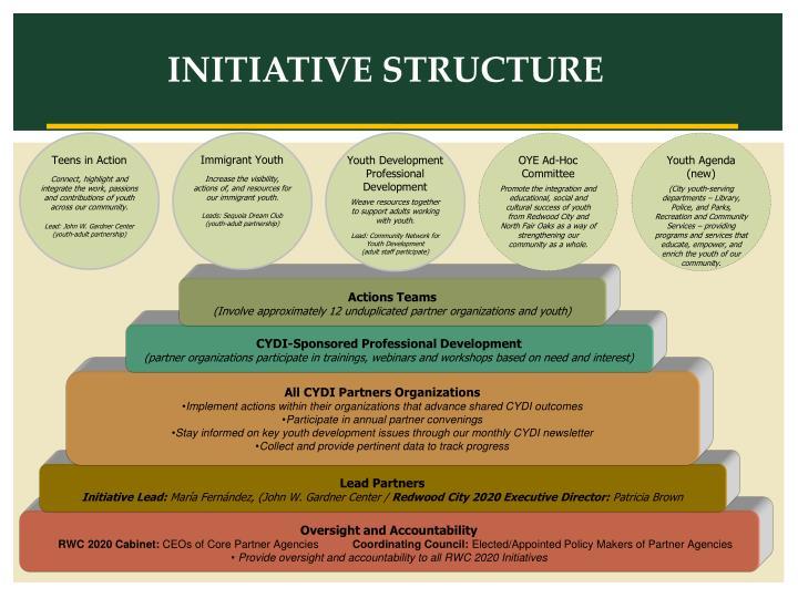 INITIATIVE STRUCTURE