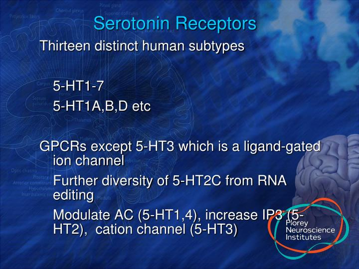 Serotonin Receptors