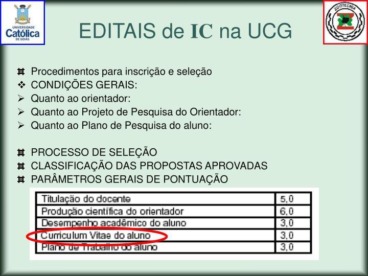 EDITAIS de