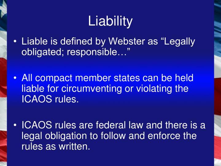 Liability