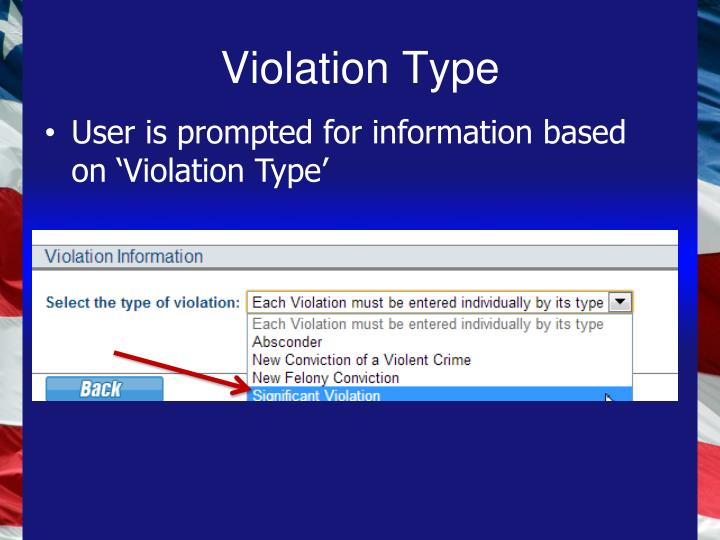 Violation Type