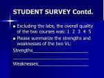 student survey contd3