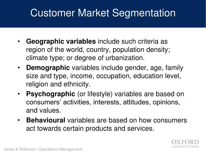 Customer Market Segmentation