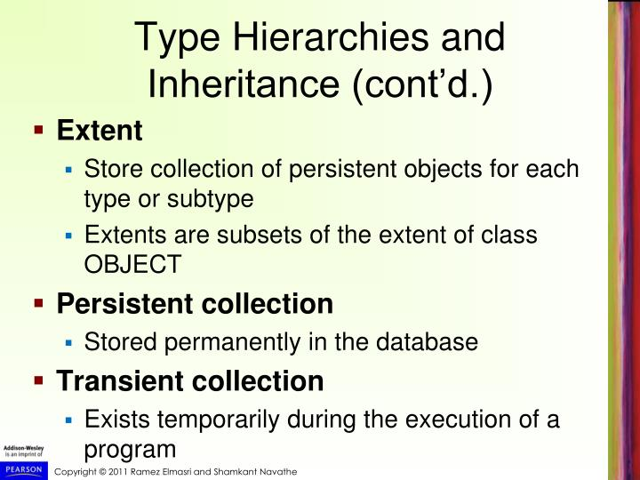 Type Hierarchies and Inheritance (cont'd.)