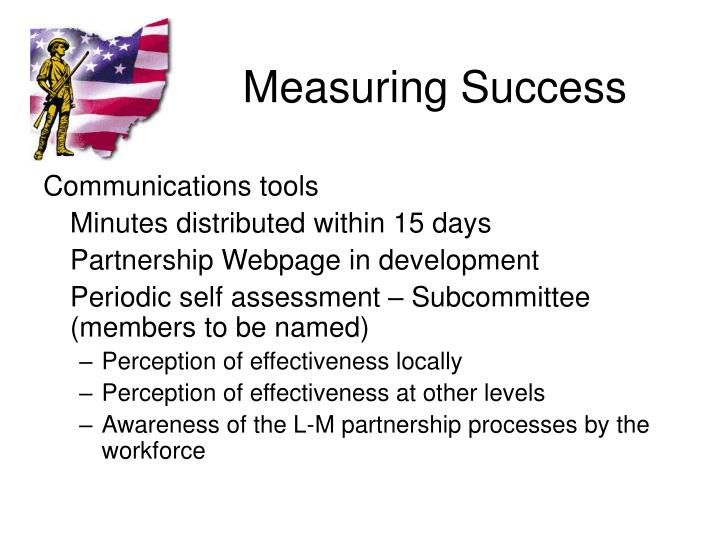 Measuring Success