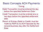 basic concepts ach payments3
