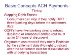 basic concepts ach payments4