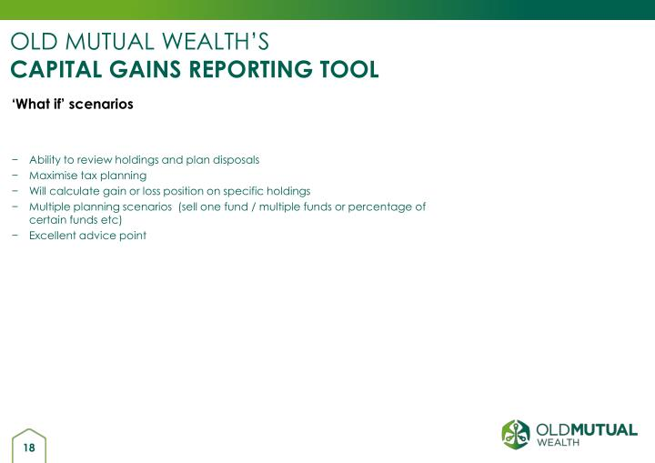 OLD MUTUAL WEALTH'S