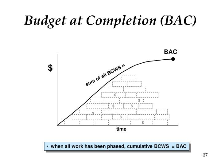 Budget at Completion (BAC)
