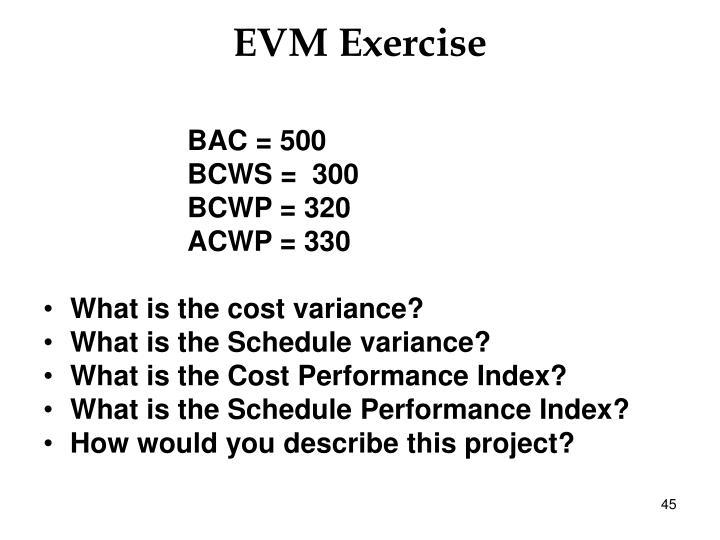 EVM Exercise