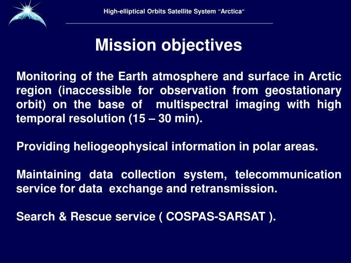 High-elliptical Orbits Satellite System